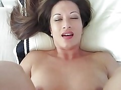 getting creampie slutty cuck asian cuckold