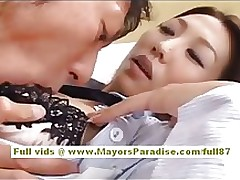 shiori tsukimi japanese office worker accepts gentile licked amateur asian