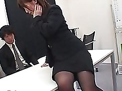 office milf makes love accepts screwed bondage cumshot toys stockings