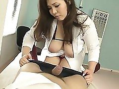 slimy breasty nurse giving head sticking pussy asian blowjob handjob