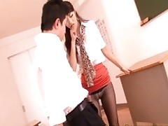 japanese milf daddy tugging tube cumshot upskirt handjob closeup asian