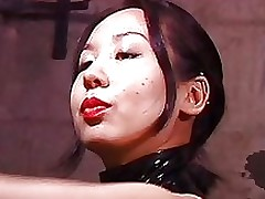 beautiful japanese femdom goddess whips fucking serf repression basement dominatrix