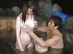 oriental doll swimsuit giving facefucking shower room eastern