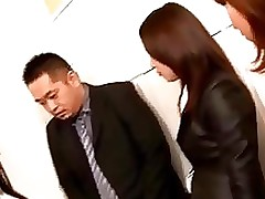 office ladies striptease shy rubbing snake chinese