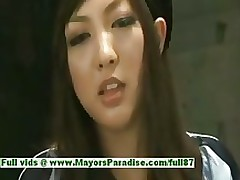 sayuri ito blameless appealing extreme oriental model attracted banging asian