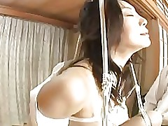 japanese office lady fastened asian bdsm