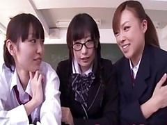 gorgeous japanese schoolgirl tasting creampie teen pussy babe fingering closeup