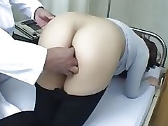 tokyo doctor arsehole asian brunette hardcore masturbation nylon