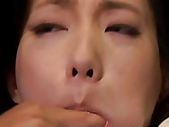 mika nanase sweaty milf enjoys sex toy blowjob bondage cumshot