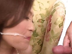 cumshot asian hairy jerking off