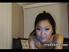 sexy babe skinny amateur oil naked asian teasing webcam stripper
