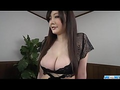 cum tits blowjob mouth lingerie asian work japanese mmf hand