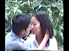sex outdoor asian public spy camera voyeur outdoors couple thai